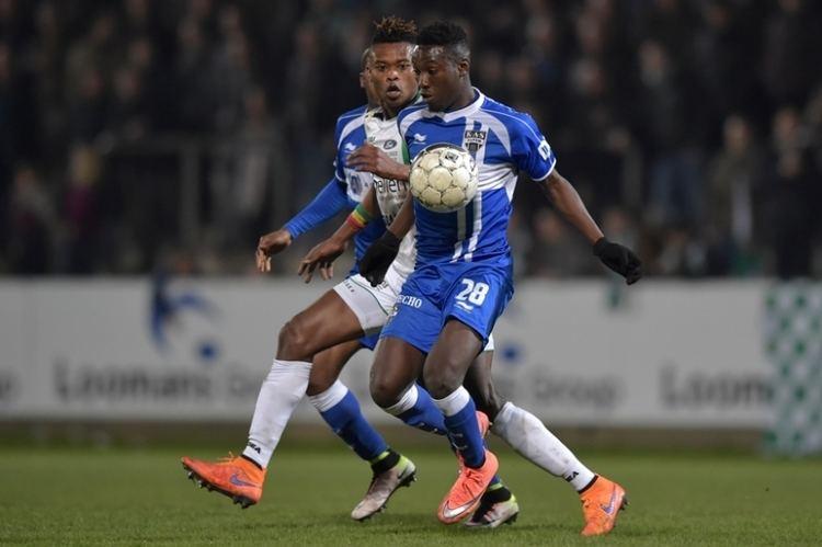 Eric Ocansey Ghanaian midfielder Eric Ocansey sent off in Beglgian league opener