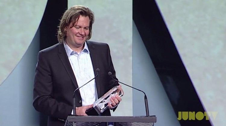 Eric Ratz Eric Ratz Wins for Recording Engineer of the Year JUNOTV