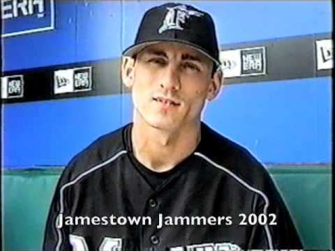 Eric Reed (baseball) Eric Reed Remembers Jamestown Jammers May 14 2006 YouTube
