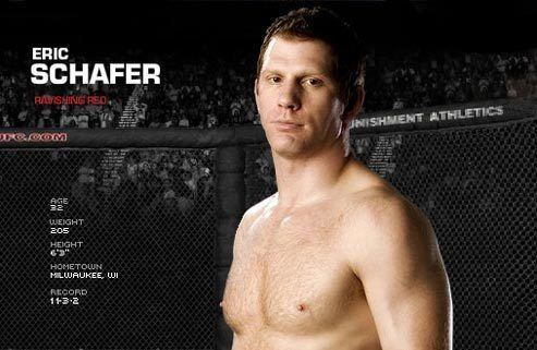 Eric Schafer UFC Quick Quote Eric Schafer ready for a stressfree