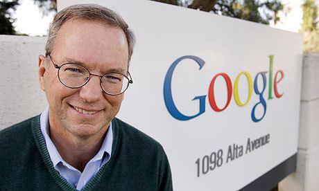Eric Schmidt Surprise Google chairman Eric Schmidt uses a BlackBerry