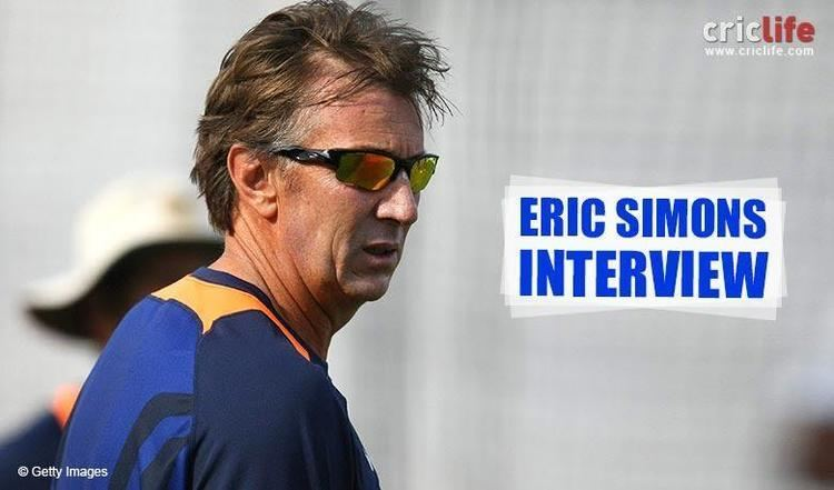 Eric Simons I enjoyed working with the Indian team as bowling coach