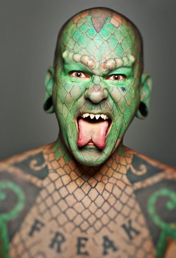 Eric Sprague World famous Lizardman to arrive June 18 at grand