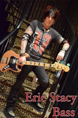 Eric Stacy Bassist Eric Stacy leaves Angels In Vein citing problems with singer