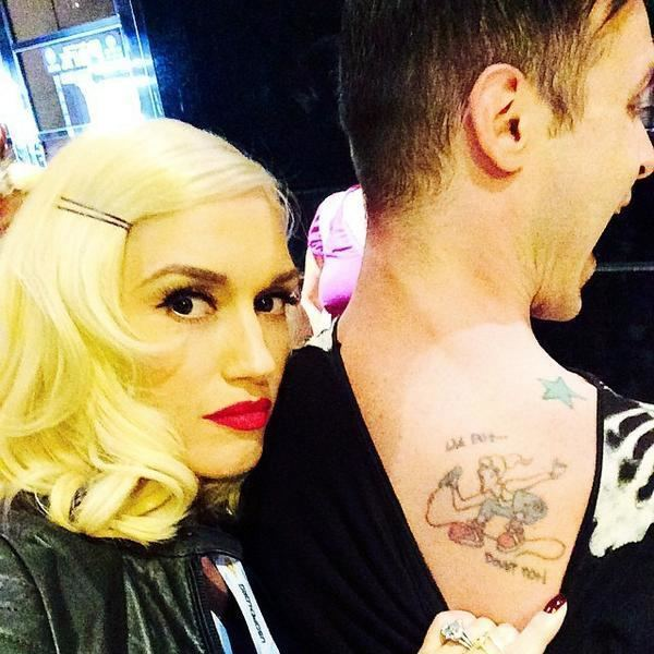 Eric Stefani Gwen Stefani on Twitter quotnodoubttattoo Eric Stefani