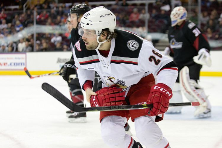 Eric Tangradi Red Wings Assign Tangradi to Griffins TSS