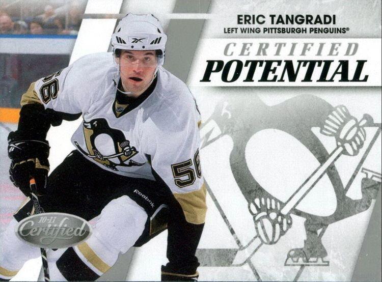 Eric Tangradi Eric Tangradi Players cards since 2009 2012 penguinshockey
