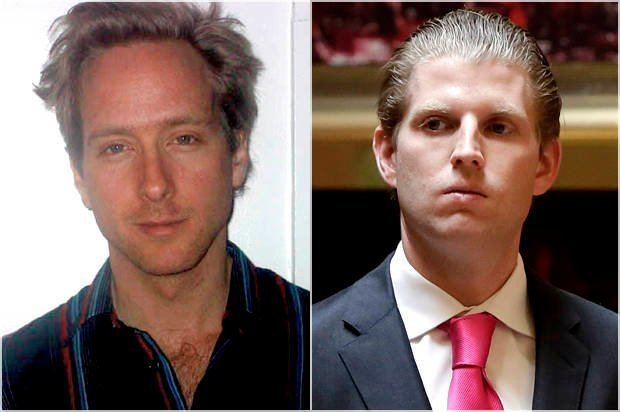 Eric Trump Dear Eric Trump I am not you Life as the Doppelgnger of a Trump