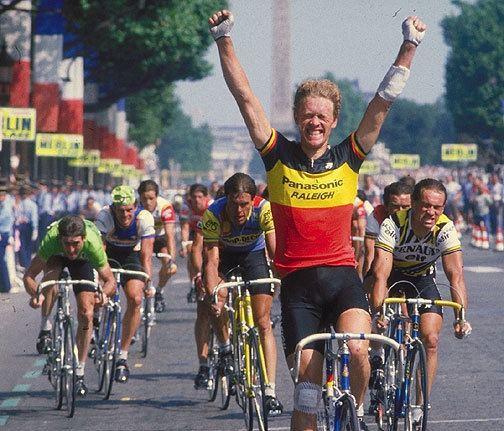 Eric Vanderaerden Cycling Hall of Famecom