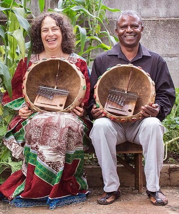 Erica Azim Mbira Master Fradreck Mujuru in Concert with Erica Azim Creative Salem