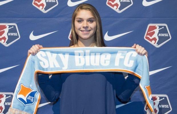 Erica Skroski Sky Blue39s Rodriguez Skroski making noise on international scene
