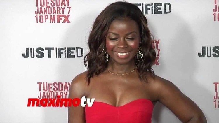 Erica Tazel Erica Tazel FX39s JUSTIFIED Season 5 Premiere Screening