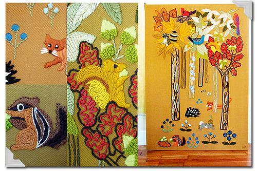 Erica Wilson Large Crewel Panel artist Erica Wilson Flickr Photo