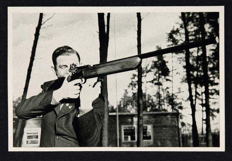 Erich Hotopf 1936 Summer Olympics Erich Hotopf Rifleman Rifle Print ORIGINAL