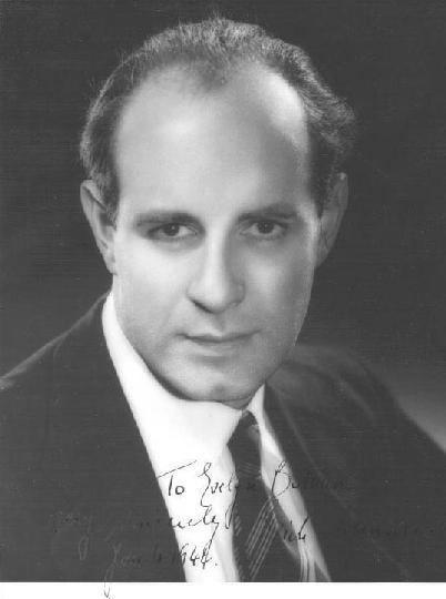 Erich Leinsdorf Erich Leinsdorf Conductor Arranger Short Biography