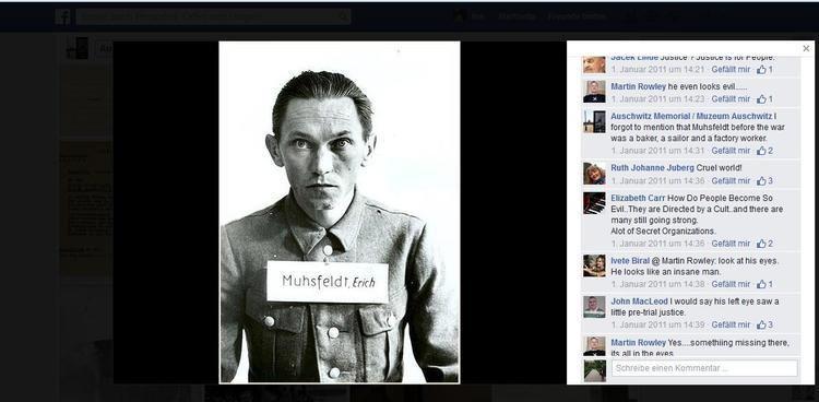 Erich Muhsfeldt He even looks evil Visual History