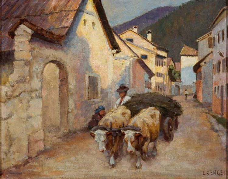 Erich Otto Engel Erich Otto Engel Works on Sale at Auction Biography
