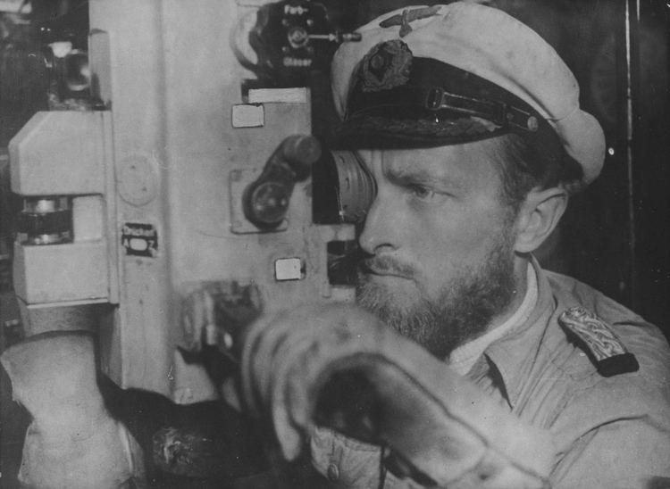 Erich Topp Le commandant du sousmarin allemand U552 le