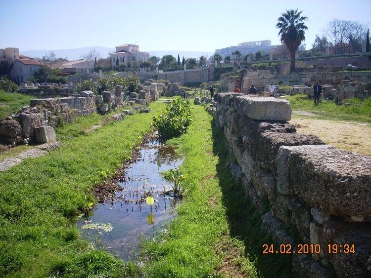 Eridanos (Athens) The river Eridanos at Kerameikos Athens Mapionet