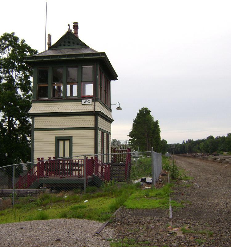 Erie Railroad Signal Tower, Waldwick Yard