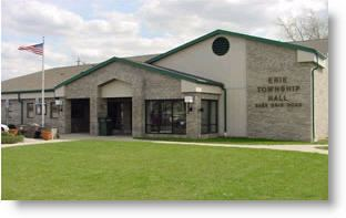 Erie Township, Michigan erietownshipcomportals45Imagestownshiphalljpg