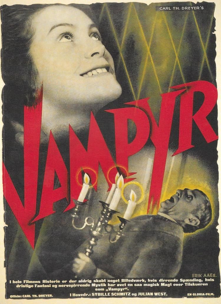 Erik Aaes Poster designs for Vampyr by Erik Aaes Reproduced from the