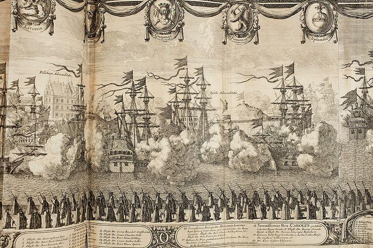 Erik Dahlbergh ERIK DAHLBERGH gravyr Suecia antiqua et hodierna 1700