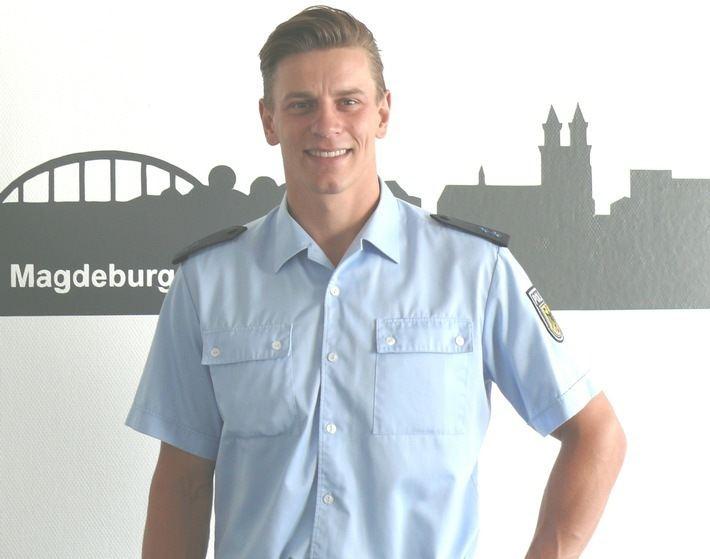 Erik Leue BPOLI MD Erik Leue ermittelt bei der Bundespolizei in Magdeburg
