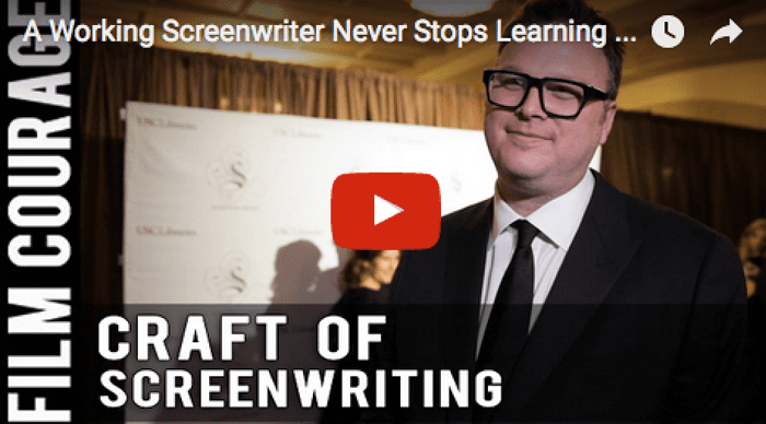 Erik Oleson A Working Screenwriter Never Stops Learning The Craft by Erik Oleson