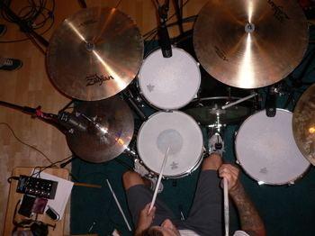 Erik Sandin Erik Sandin NOFX cymbals