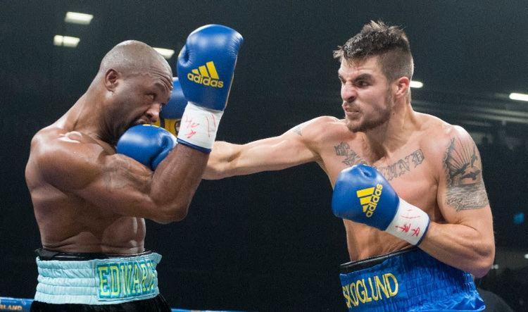 Erik Skoglund (boxer) Erik Skoglund outpoint39s Derek Edwards Boxing News Ring News24