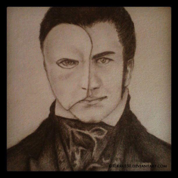 Erik (The Phantom of the Opera) Erik The Phantom of the Opera by Rikku150 on DeviantArt