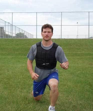 Erik Westrum Ironwear Fitness Trainer Erik Westrum Weighted Vest Sport Training