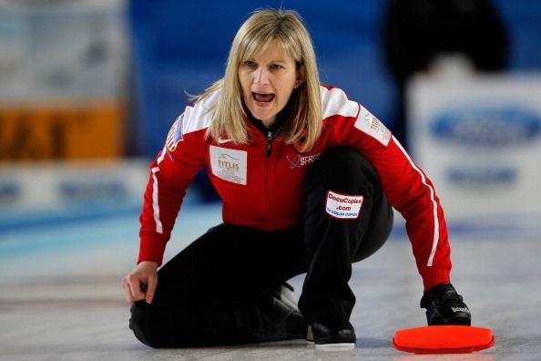 Erika Brown Curling39s Erika Brown eyes return to Olympics 26 years