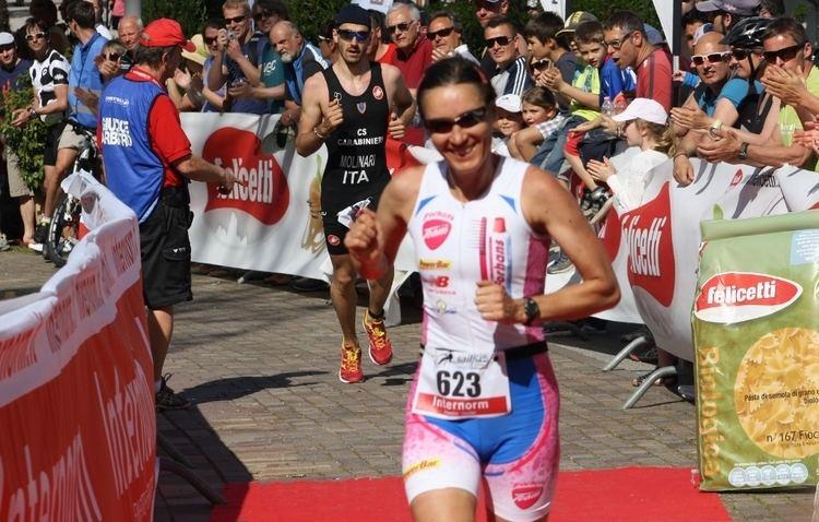 Erika Csomor Csomor e Molinari vincono il 25 Triathlon di Caldaro
