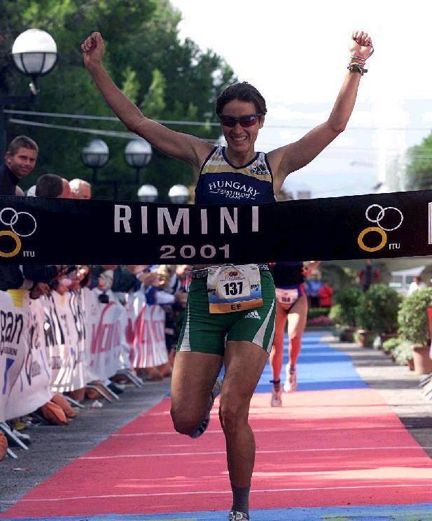 Erika Csomor In Rimini even the World Champions Erica Csomor