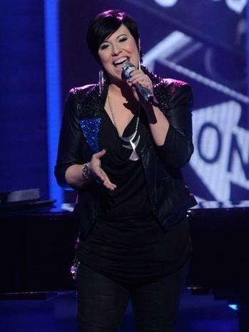 Erika Van Pelt American Idol39 Castoff Erika Van Pelt Slams Jennifer