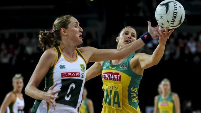 Erin Burger Queensland Firebirds Erin Burger to fill key Super Netball role