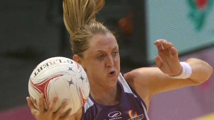 Erin Burger South African netball star Erin Burger feels at home with Firebirds