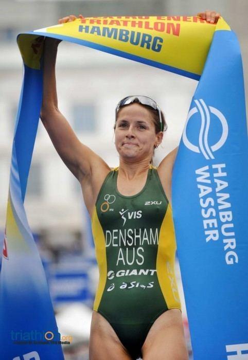 Erin Densham Erin Densham superb to take second ITU World Triathlon