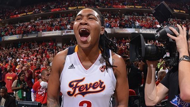 Erlana Larkins Larkins Fever Win WNBA Title University of North