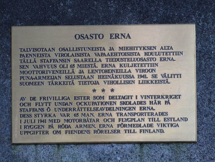 Erna long-range reconnaissance group