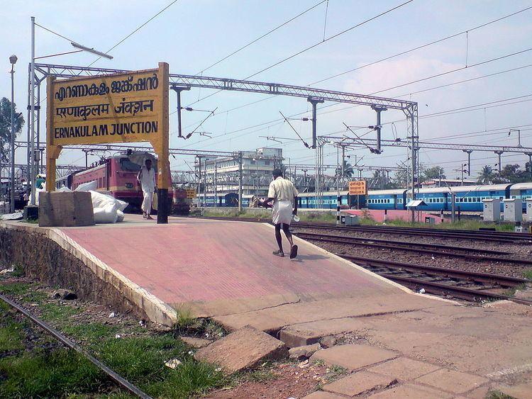 Ernakulam Junction railway station