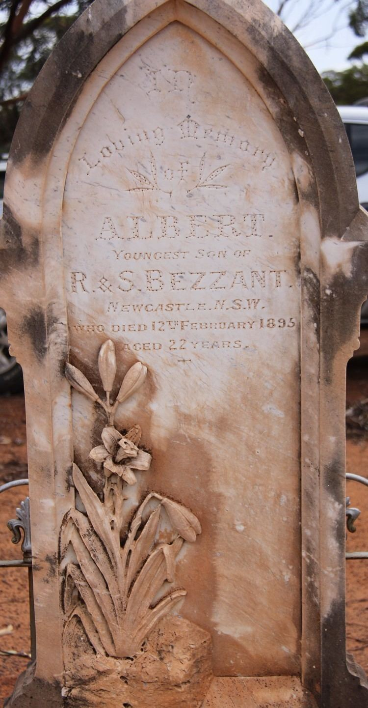 Ernest Bezzant Albert Ernest Bezzant 1873 1895 Find A Grave Memorial