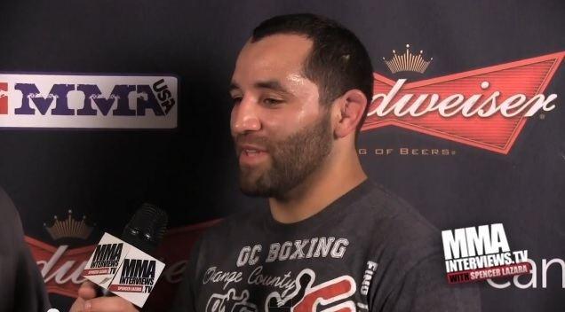Ernest Chavez (fighter) MMA InterviewsTV Ernest Chavez Badbeat 8 PostFight
