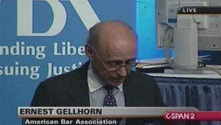 Ernest Gellhorn Ernest Gellhorn CSPANorg