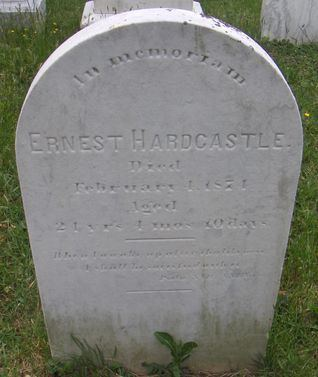 Ernest Hardcastle Ernest Hardcastle Tombstone Our Family Tree