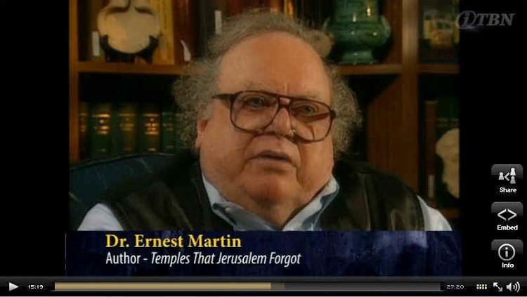 Ernest L. Martin ernestlmartincomimageselmlastvideojpg