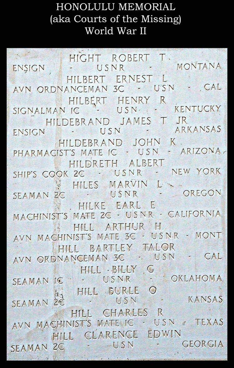 Ernest Lenard Hilbert AOM3 Ernest Lenard Hilbert 1920 1942 Find A Grave Memorial