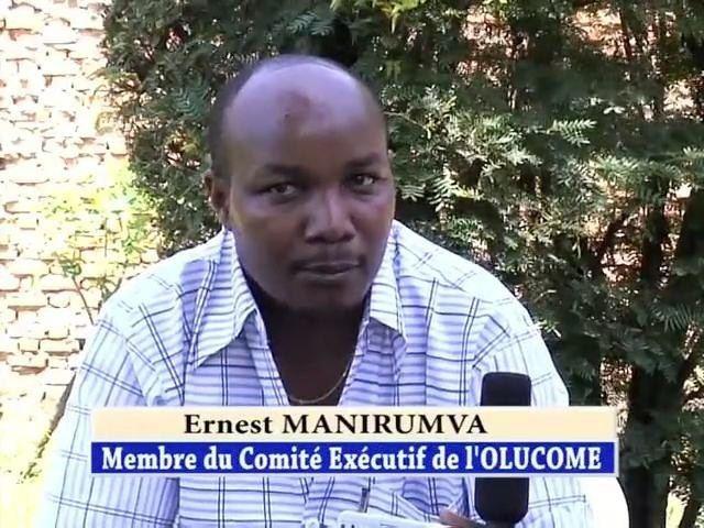 Ernest Manirumva Le procs du Feu Ernest Manirumva ajourn pour une date